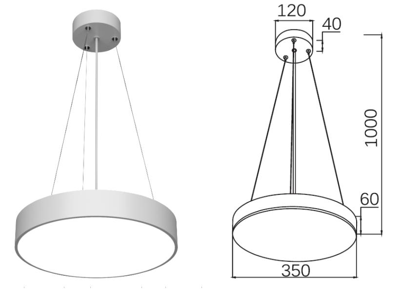 PNY Adjustable led spot light series for bedroom-1