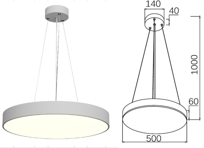 PNY Adjustable led spot light series for bedroom-3