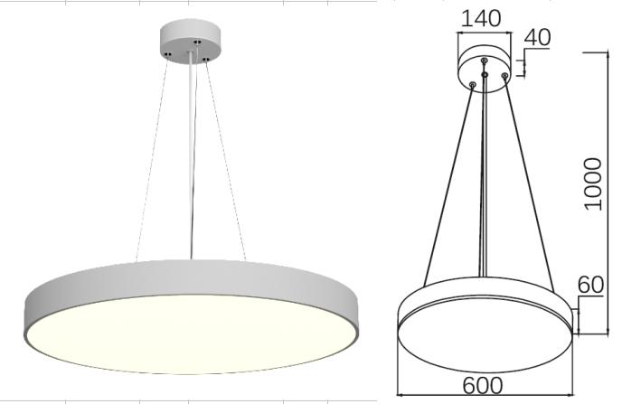PNY Adjustable led spot light series for bedroom-4