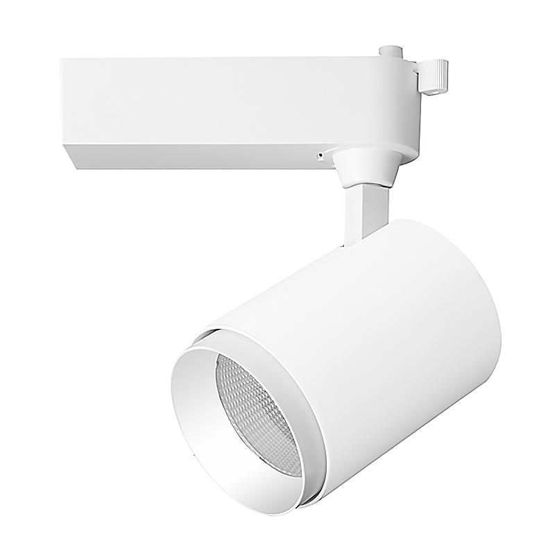 30W COB LED TRACK LIGHT BEAM ANGLE 15° 24° 38°