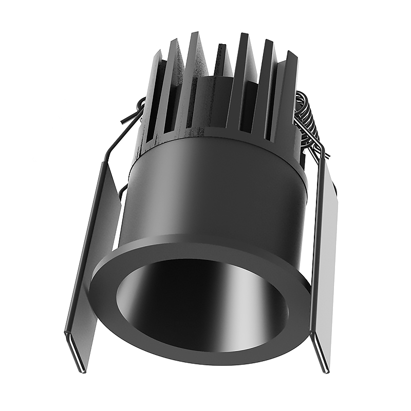 PNY-Led Spot Light Fixtures, 8w Round Recessed Anti-glare Downlight