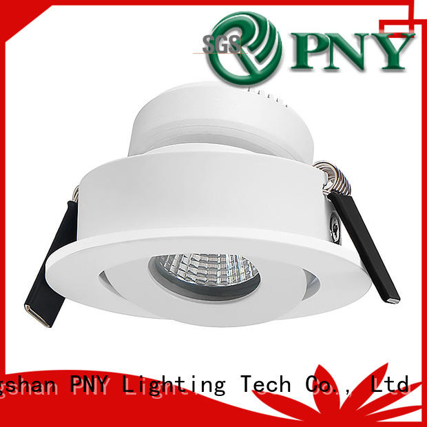 PNY high brightness square recessed spotlights design for nightclubs