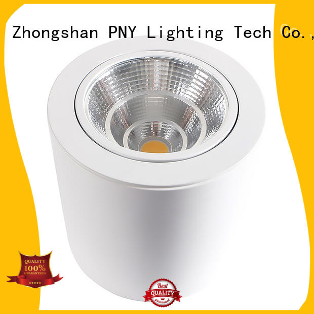 led house spotlights gimbal zoom glare PNY Brand