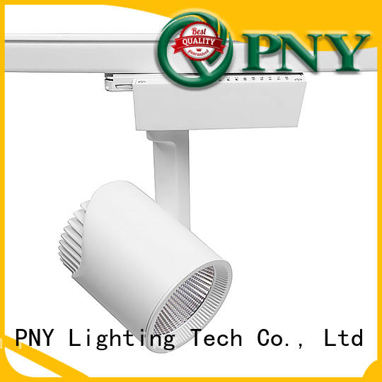 PNY stable gallery track lighting promotion for stage