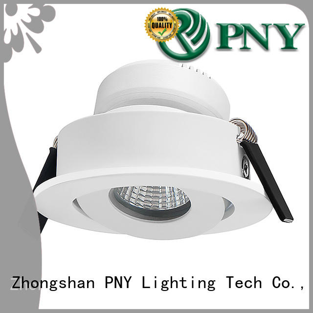 PNY square recessed spotlights from China for DJ