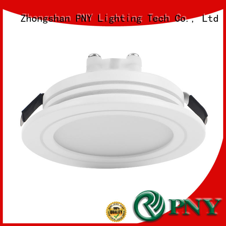 PNY adjustable led downlights factory price for hotel