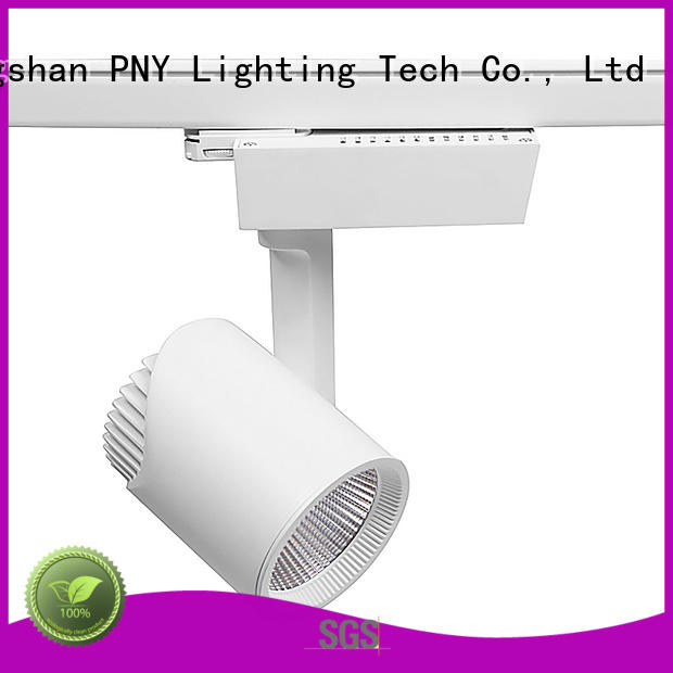 Custom small track lighting fixtures stage PNY