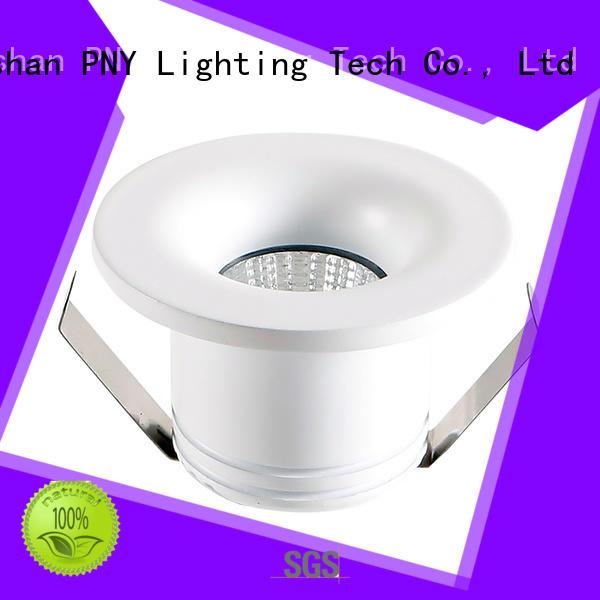 led house spotlights downlight body depth PNY Brand led spot light