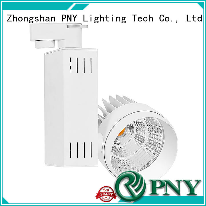 PNY custom dimmable led track light factory price for stage