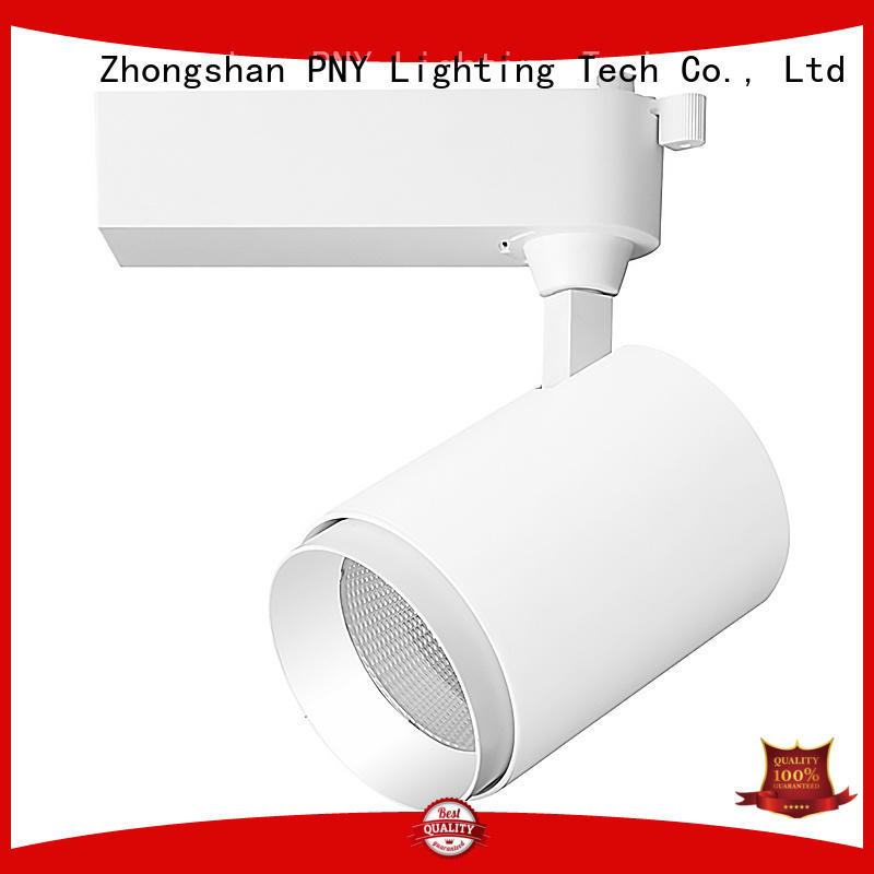 small zoomable track lighting fixtures body PNY Brand company