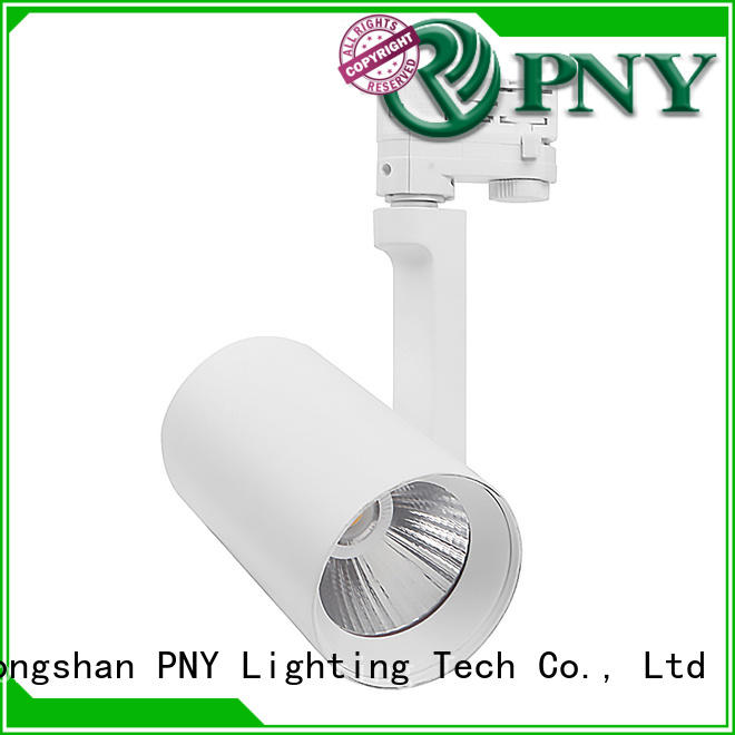 PNY dimmable led track light factory price for bar