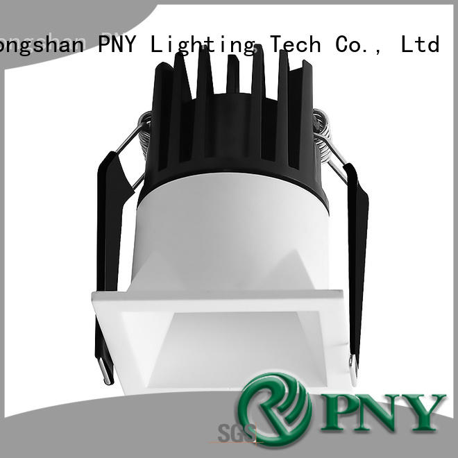 PNY recessed dimmable led downlights design for big performance
