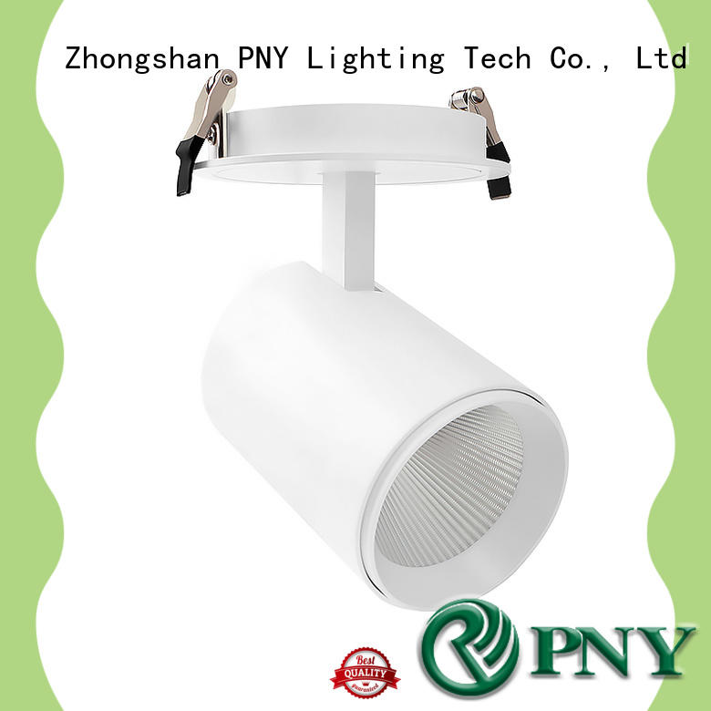 spot adjustable led spotlights gimbal for churches PNY