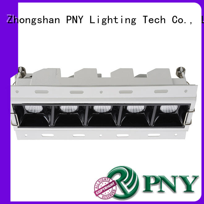 PNY High Bright inset spotlights from China for big performance