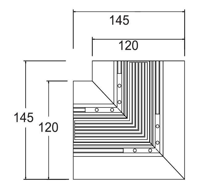 Connection Profile of  Recessed   Magnetic System