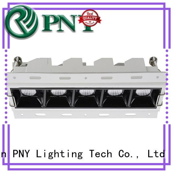 Low Power recessed adjustable spotlights design for DJ