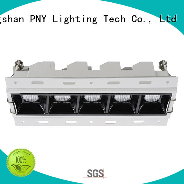 PNY Adjustable led down light for meeting room