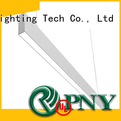 PNY Attractive led linear lighting design for dining room