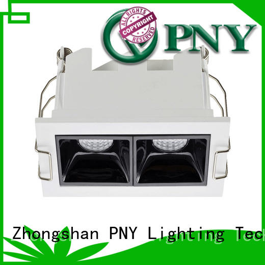 PNY clear pattern led linear down light factory price for villa