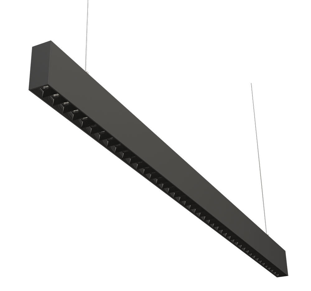 3475 office linear pendant light 1.2M Grille type 45W