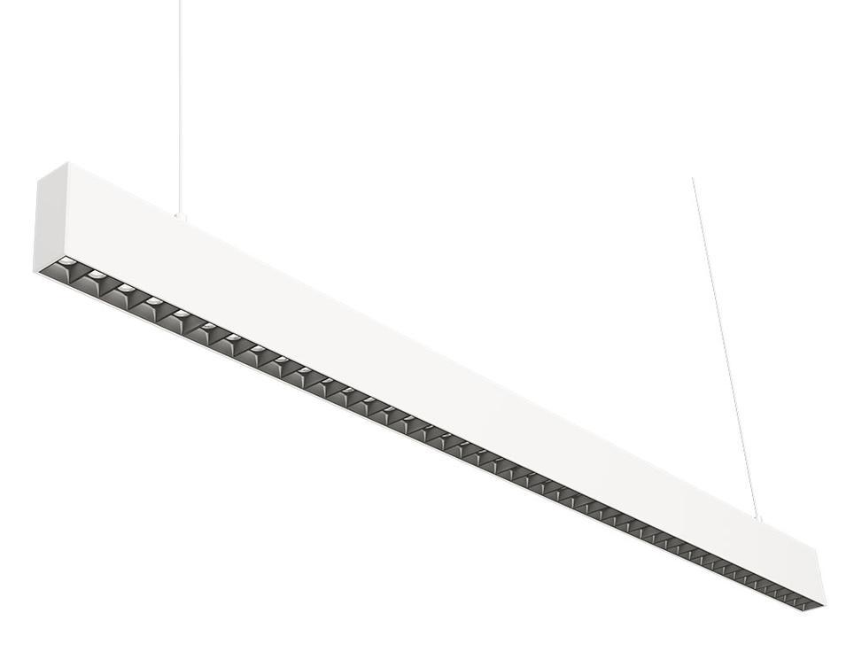 3475 office linear pendant light 1.2M Grille type 45W