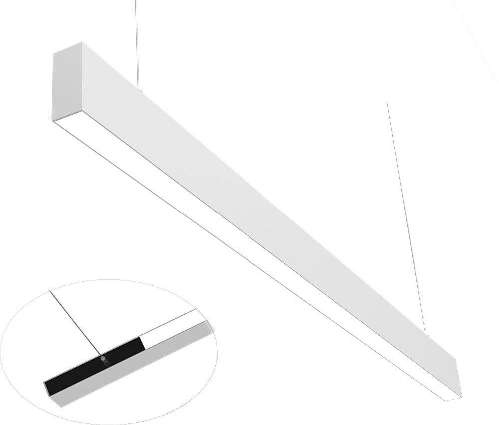 3475 office linear pendant light 1.2M flood type U+D 45W