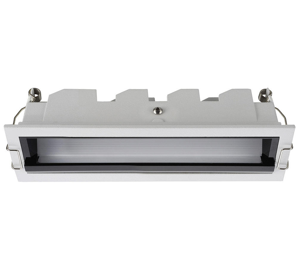 12W  GRILLE LIGHT RECESSED ANTI UGR<19 Anti-glare function