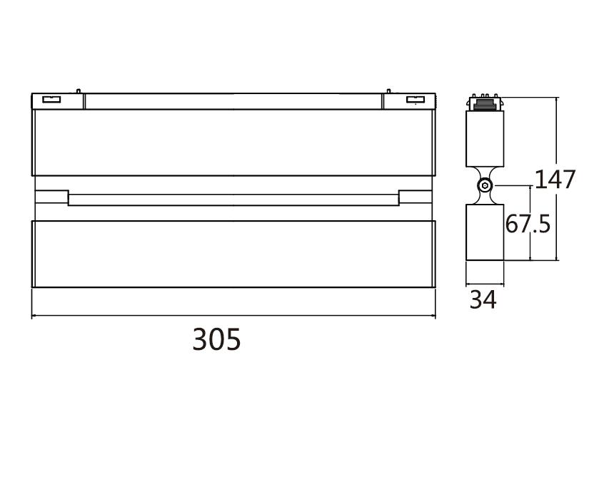 PNY-Oem Led Track Light Manufacturer, Led Light Fixtures | Pny-1