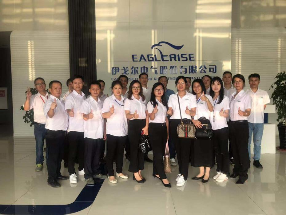 Tour and Visit to Foshan Eaglerise Electric & Electronic Co., Ltd