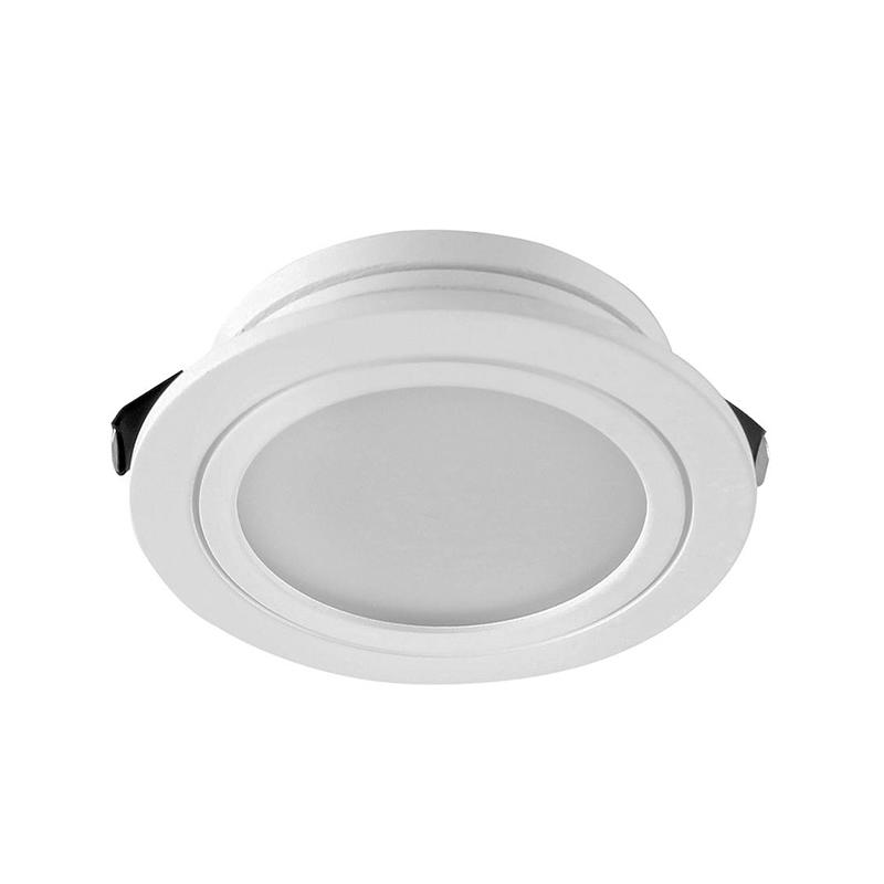 RECESSED CABINET LIGHT SMD 3W ROUND & SQUARE