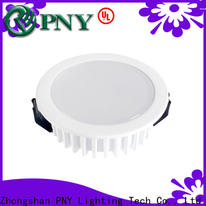 PNY practical recessed downlight manufacturer for bathroom