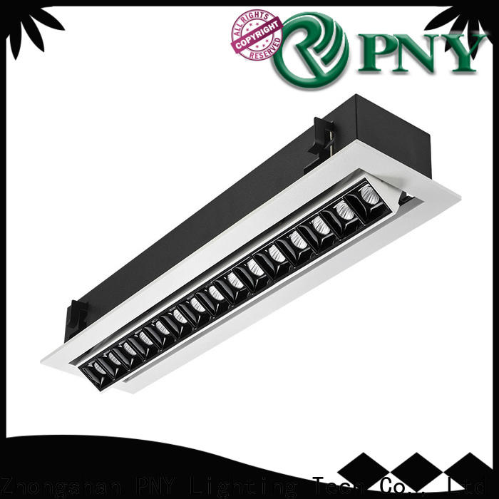 PNY led downlights at discount for building