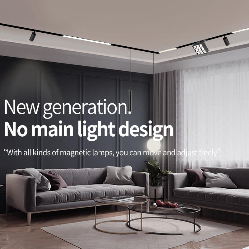 34 series magnetic square grille lamp