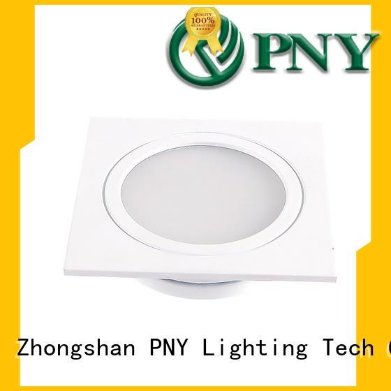 PNY utility led recessed ceiling lights manufacturer for bathroom