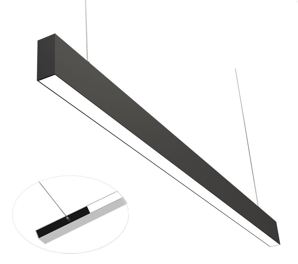 3475 office linear pendant light 1.2M flood type U+D 45W-2