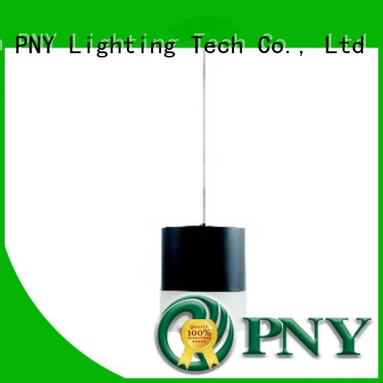PNY glass pendant lights factory price for living room