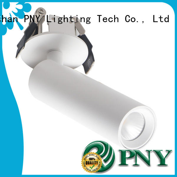 down led track light rating for stage PNY