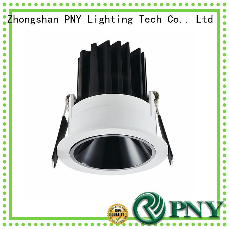 PNY waterproof recessed led downlight manufacturer for bathroom