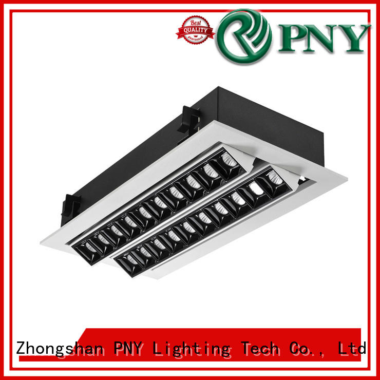 PNY clear pattern led linear down light at discount for hotel