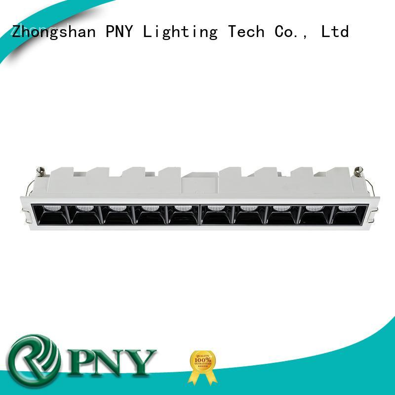 clear pattern led linear down light at discount for apartment