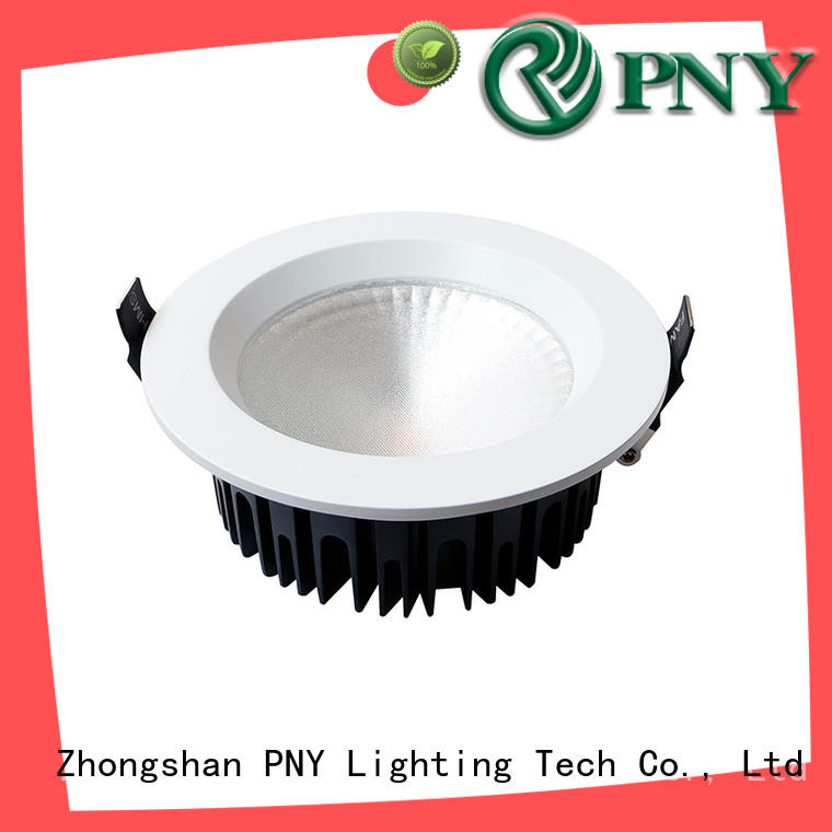 PNY utility recessed adjustable led downlights design for bedroom