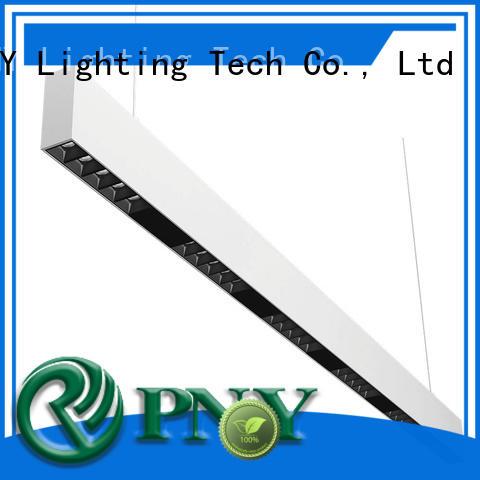 convenient installed linear led lighting design for sitting room