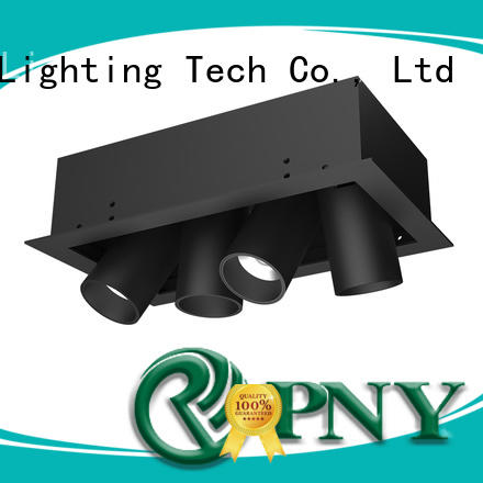 PNY high efficiency led light fixtures antiglare for living room