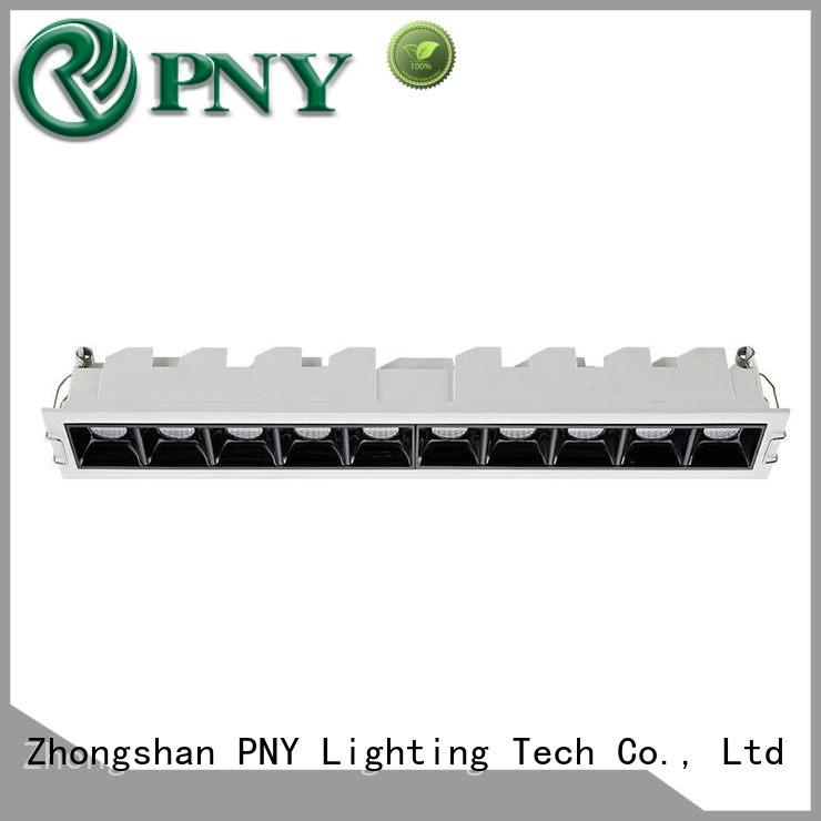 PNY clear pattern led downlights online for apartment