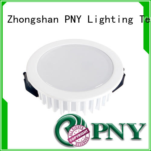 PNY led recessed downlight design for living room