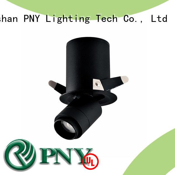 PNY recessed adjustable led downlights online for bedroom